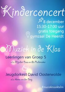 Kinderconcert Poster