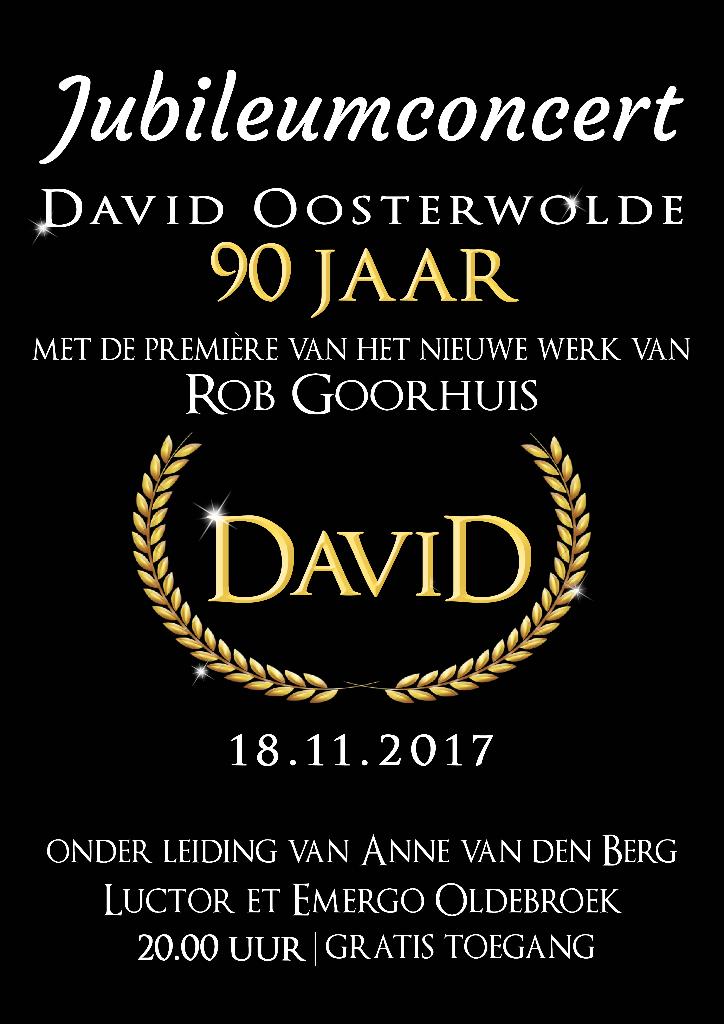 Poster jubileumconcert 2017