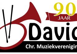 logo CMV David 90 jaar