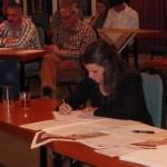 De jury van de avond: Silva Soepboer