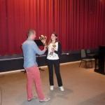 Winnares van de senioren en totaalbeker:  Christina van der Schouw